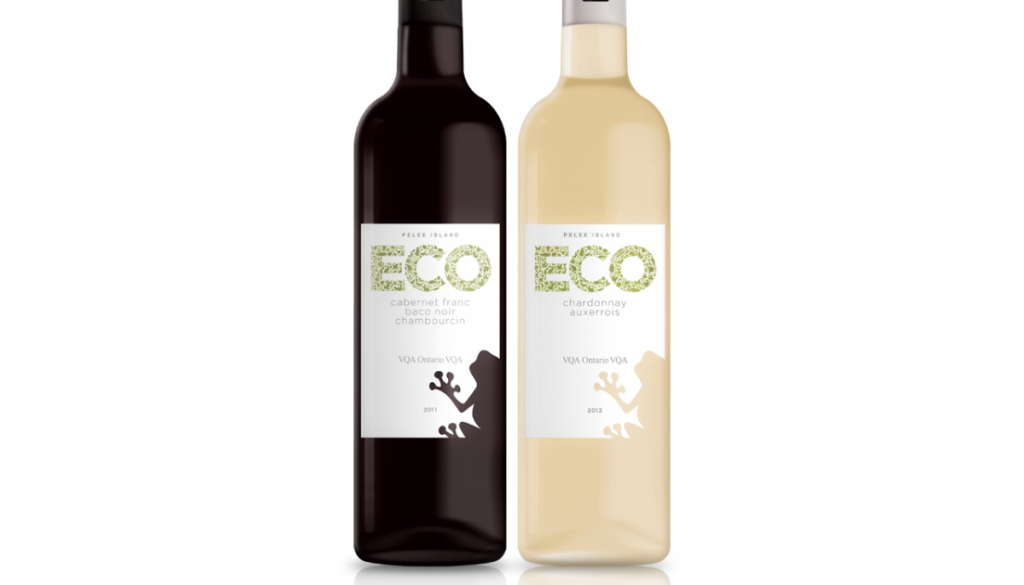 ECO wines- Peele Island Winery - BANG! creative strategy by design