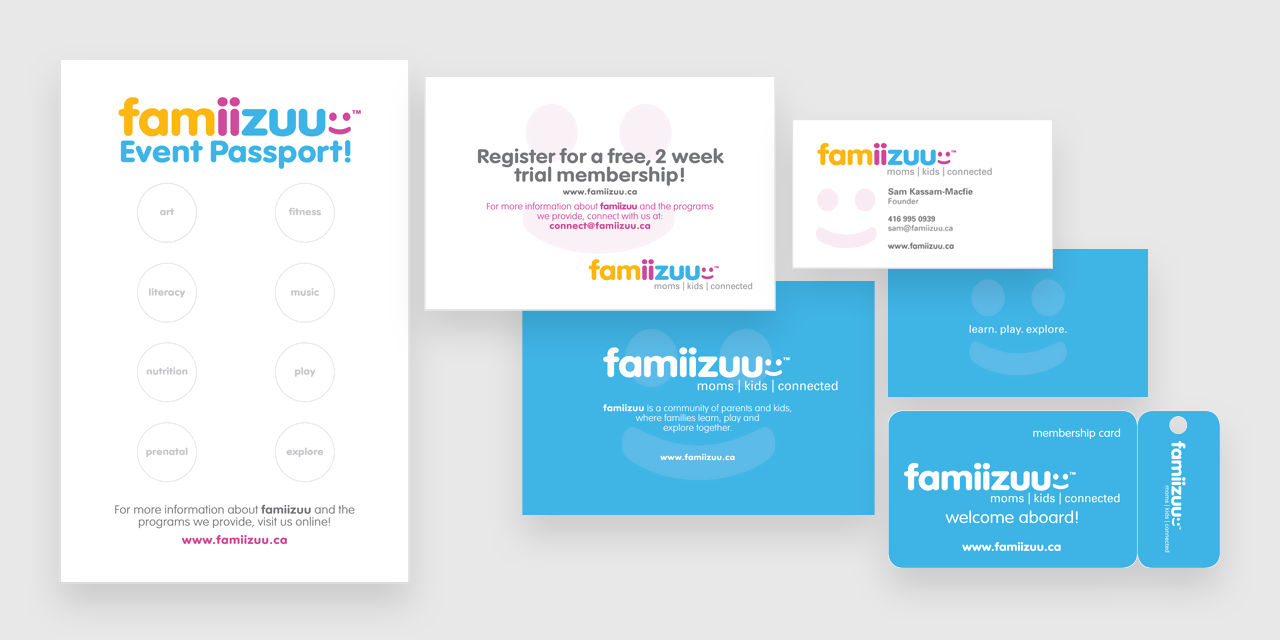 Famiizuu Collateral - Designed by BANG! creative