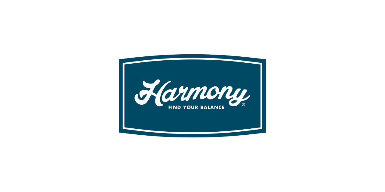 Logo Branding Harmony by BANG! creative strategy by design