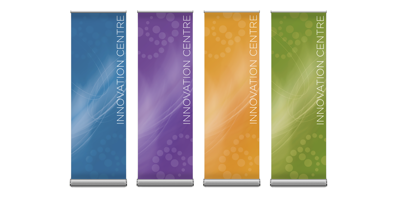 Banner Graphic Design Milton Educational Village Innovation Centre by BANG! creative strategy by design