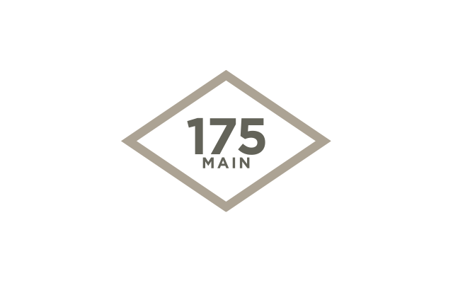 175 Main Street Logo - Designed by BANG! creative