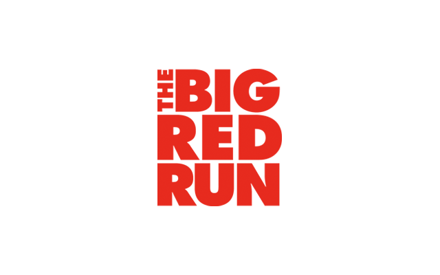 Big Red Run Logo - Designed by BANG! creative