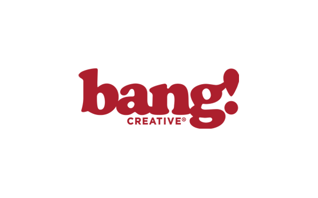 BANG! creative Logo - Designed by BANG! creative