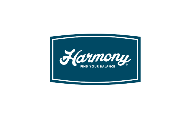 Logo Branding Development Harmony by BANG! creative strategy by design