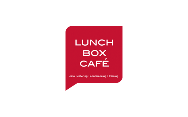 Logo Branding Development Lunch Box Café by BANG! creative strategy by design