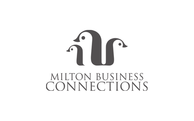 Milton Business Connections Logo - Designed by BANG! creative