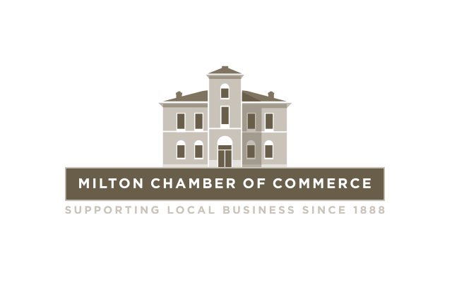 Logo Branding Development Milton Chamber of Commerce 125 Anniversary by BANG! creative strategy by design