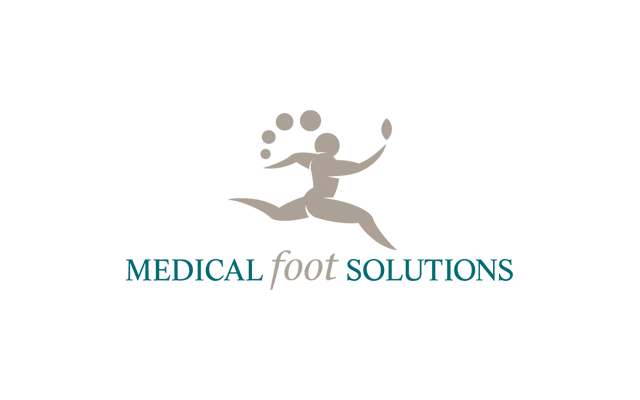 Logo Branding Development Medical Foot Solutions by BANG! creative strategy by design