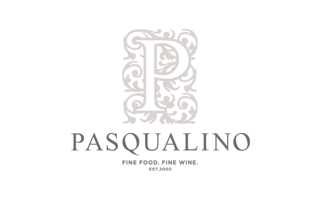 Pasqualino Logo - Designed by BANG! creative