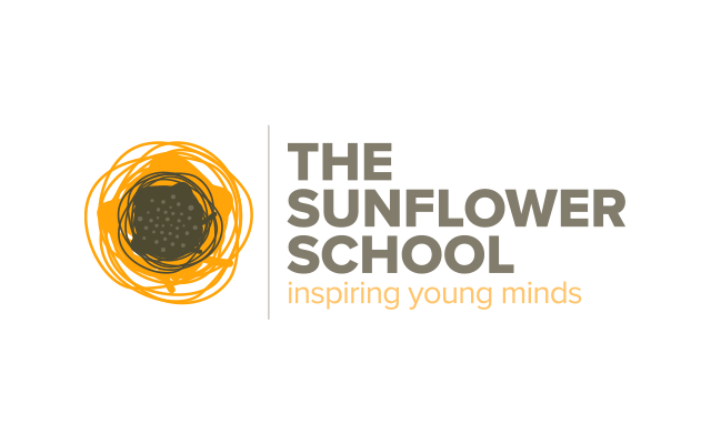Logo Branding Development The Sunflower School by BANG! creative strategy by design