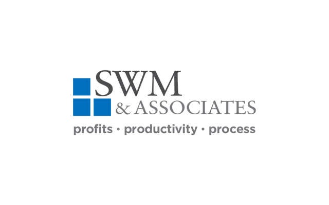 Logo Branding Development SWM & Associates by BANG! creative strategy by design
