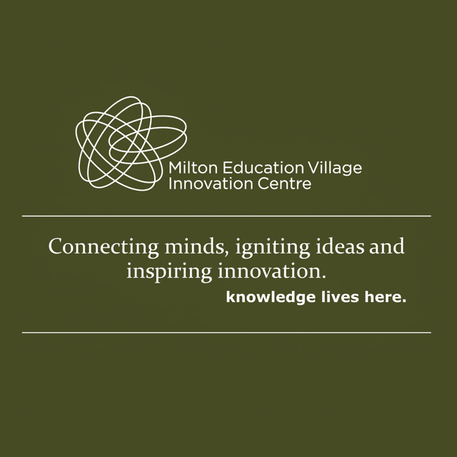 Brand Development Mission Statement Milton Educational Village Innovation Centre by BANG! creative strategy by design