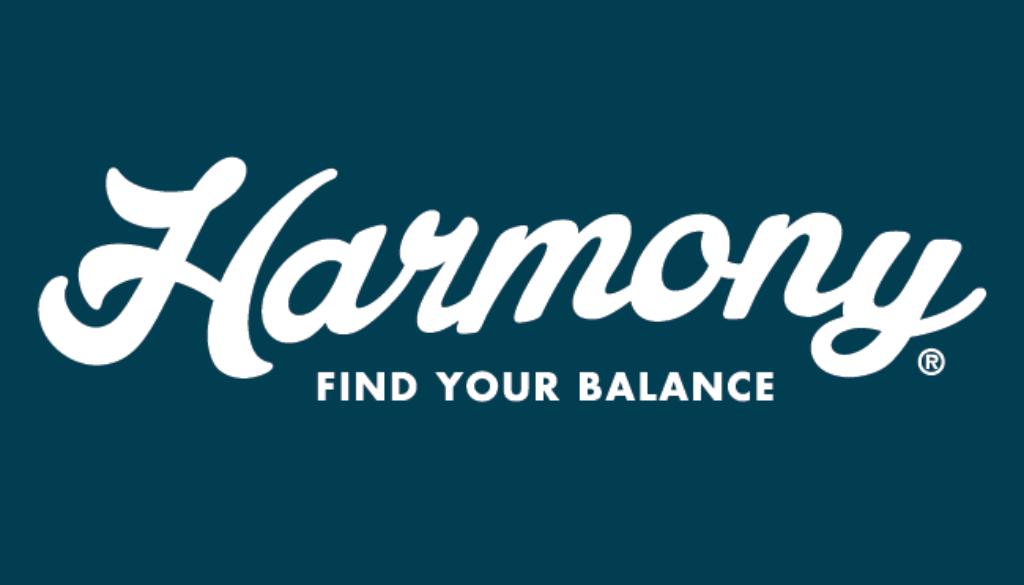 Logo Branding Development Harmony by BANG! creative strategy by design