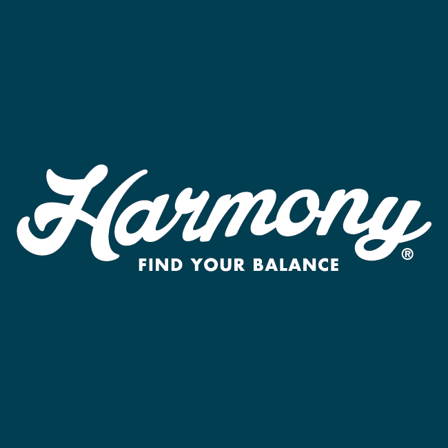 harmony wordmark - Designed by BANG! creative