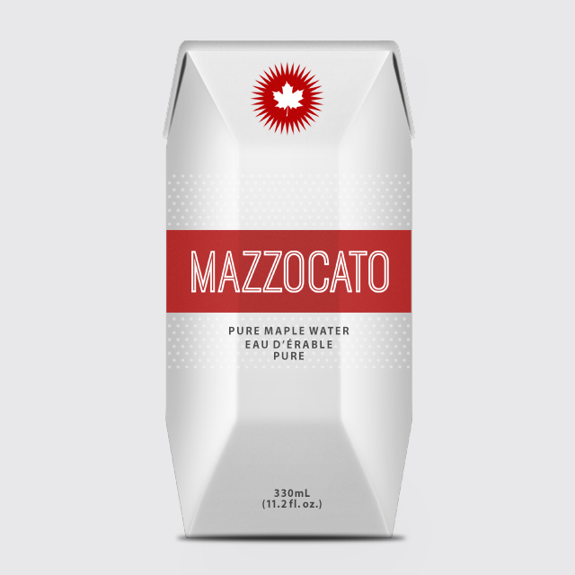 17c11920864 Branding and Packaging Design of Mazzocato Maple Water by BANG! creative  strategy by design