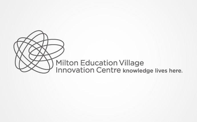 Logo Branding Development Milton Educational Village Innovation Centre by BANG! creative